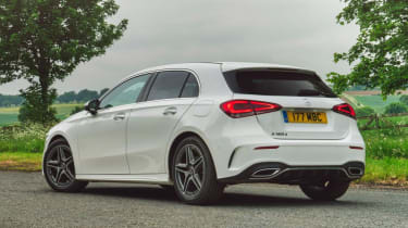 Mercedes A-Class AMG Line - rear 3/4 driving