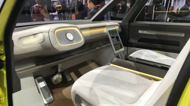 The VW I.D.Buzz driver's seat is particularly impressive