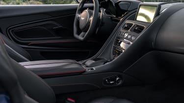 Aston Martin DBS Superleggera Volante front seats