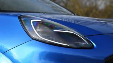 Ford Puma SUV headlights