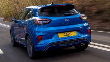 2020 Ford Puma - rear tracking