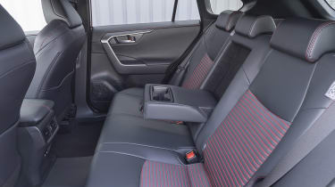 Suzuki Across SUV rear seats