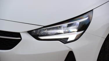 Vauxhall Corsa hatchback headlights