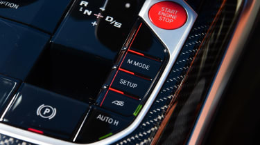 BMW M4 Coupe driving modes