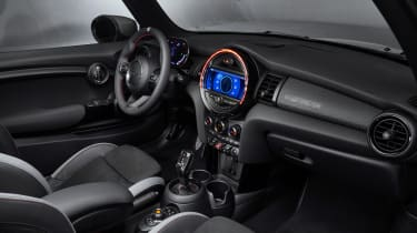 MINI John Cooper Works GP - dashboard angled