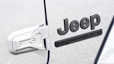 2021 Jeep Wrangler 80th Anniversary - badging