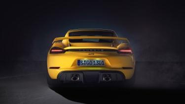Porsche 718 Cayman GT4 - rear view