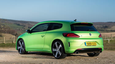 With such a potent engine, fuel economy suffers, and the Scirocco R can only manage around 35mpg