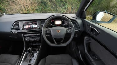 Cupra Ateca SUV - interior