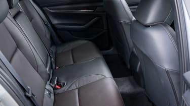 Mazda3 hatchback rear seats