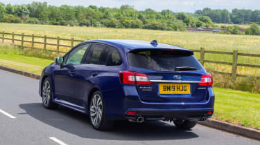 2019 Subaru Levorg 2.0i GT Lineartronic - rear 3/4