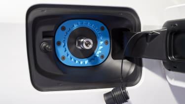 BMW iX5 Hydrogen - fuel cap