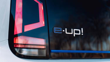 Volkswagen e-up badge