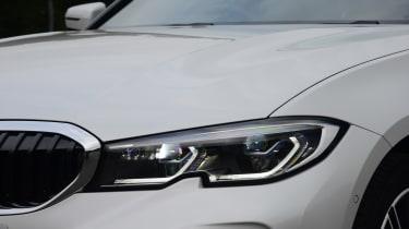 BMW 330e saloon headlights