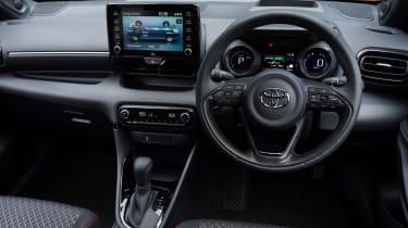 Toyota Yaris Hybrid interior