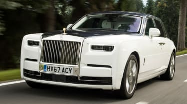 The Rolls-Royce Phantom is one of the world's most exclusive luxury cars