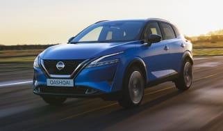New Nissan Qashqai driving