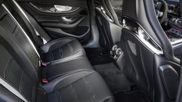 Mercedes-AMG GT 63 rear seats
