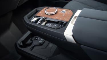 BMW iX SUV centre console