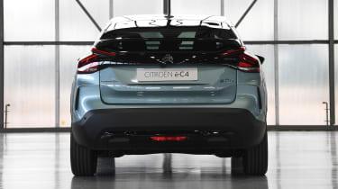 2021 Citroen e-C4 - front rear static view