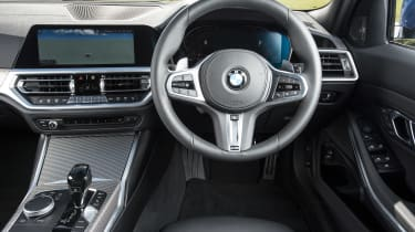 BMW 3 Series Touring interior
