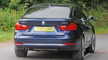 BMW 3 Series Gran Turismo rear cornering