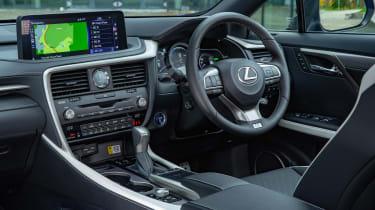 Lexus RX SUV steering wheel