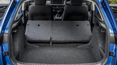 Skoda Scala hatchback boot seats folded