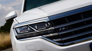 Volkswagen Touareg SUV headlights