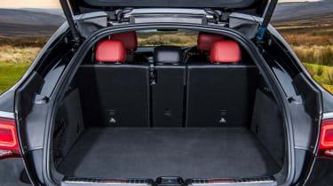 Mercedes GLC Coupe SUV boot