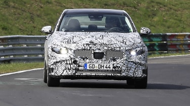 2021 Mercedes C-Class testing at the Nurburgring
