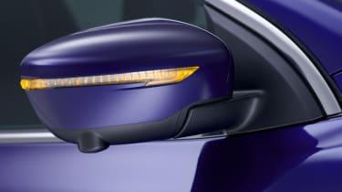 Nissan Qashqai 2014 wing mirror detail