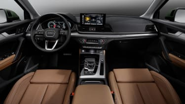 Audi Q5 facelift interior
