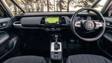 Honda Jazz hatchback interior