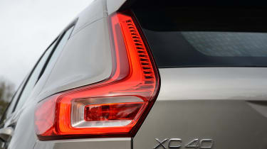 Volvo XC40 SUV rear lights