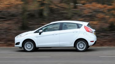 All Fiesta models get a smooth five-speed manual gearbox as standard.