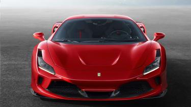 Ferrari F8 Tributo front end