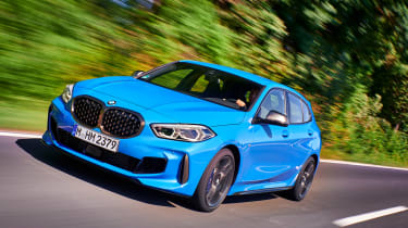 BMW M135i driving - front