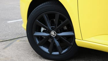 Larger alloys are an option on higher trim levels