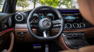 Mercedes E-Class E 300 e hybrid - dashboard