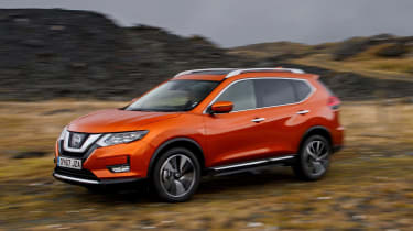 2017 Nissan X-Trail - off-road dynamic front 3/4
