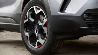 2021 Vauxhall Mokka - front alloy wheel close