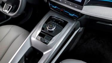 New MG 5 EV centre console