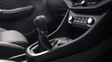MG3 gear lever