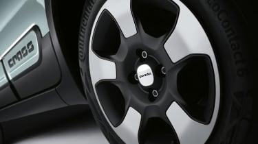 Fiat Panda mild hybrid wheel design