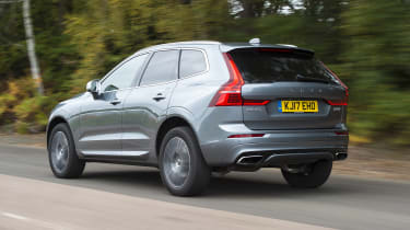 Volvo XC60 - rear 3/4 view