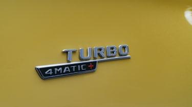 Mercedes-AMG A 45 S hatchback - side badging