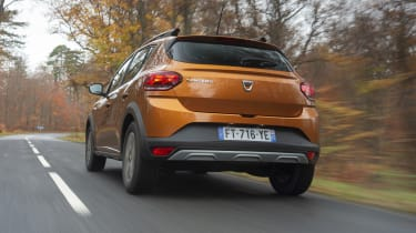 2021 Dacia Sandero Stepway - rear 3/4 view
