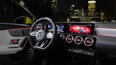 Mercedes-AMG CLA 35  - interior