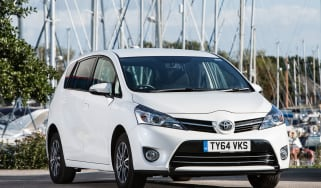 The Toyota Verso is a people carrier that rivals models such as the Ford C-MAX
